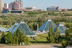 Conservatorio di Muttart, Edmonton Fotografia Stock