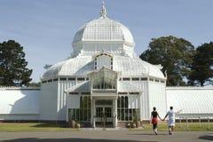 conservatory пары Стоковая Фотография RF