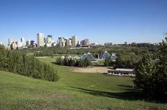 Conservatory building Edmonton Stock Image