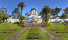Conservatory of Flowers Stock Photos