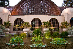 Conservatory of Flowers, Balboa Park, San Diego Stock Photos