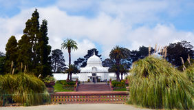Conservatory of Flowers in Golden Gate Park San Francisco Califo Stock Image