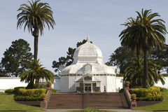Conservatory Flowers and stair Stock Photos