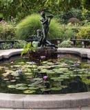 The Conservatory Garden Central Park, New York City Stock Photos