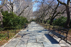 Conservatory Garden in New York City Royalty Free Stock Photos