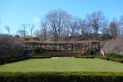 Conservatory Garden in New York City Stock Image