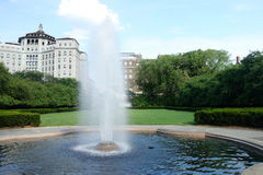 Conservatory Garden in New York City Royalty Free Stock Photography