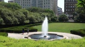 New York City Conservatory Garden stock video
