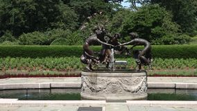 Conservatory Garden Fountain Stock Images