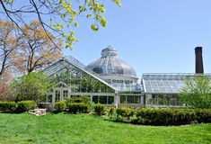 Conservatory and Greenhouse Royalty Free Stock Photo