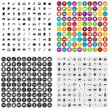 100 conservatory icons set vector variant. 100 conservatory icons set vector in 4 variant for any web design isolated on white Royalty Free Stock Photos