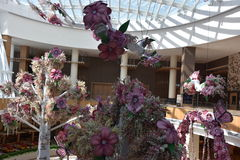Conservatory at the MGM Casino Resort at National Harbor Stock Image