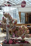 Conservatory at the MGM Casino Resort at National Harbor Stock Photo