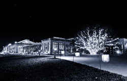 The Conservatory at night, Longwood Gardens, PA Royalty Free Stock Photo