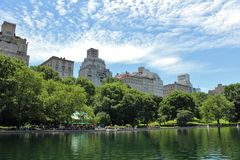 Conservatory Water, Central Park Stock Image