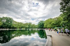 Conservatory Water Royalty Free Stock Photos