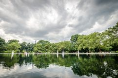 Conservatory Water Royalty Free Stock Image