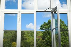 Conservatory Window Stock Image
