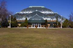 Conservatório do parque de Lincoln Foto de Stock