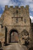 Conservazione al castello di Prudhoe Fotografie Stock