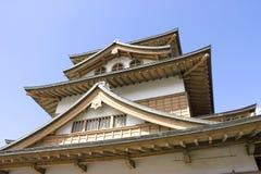 Conservazione principale del castello di Takashima (frammento) Immagini Stock Libere da Diritti