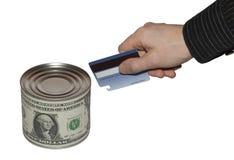 Conserve del dinero Fotografía de archivo libre de regalías