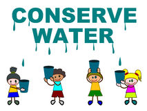 Conserve water Stock Photos