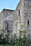 Ruins of medieval stone castle in Ireland Royalty Free Stock Images