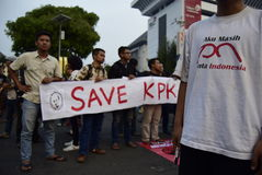Conservi il kpk per l'Indonesia Fotografia Stock Libera da Diritti