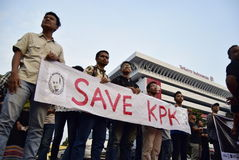 Conservi il kpk per l'Indonesia Fotografie Stock Libere da Diritti