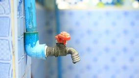 Conservi l'acqua, mondo di risparmi stock footage