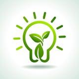 Conservi l'idea ed il concetto verdi dell'ambiente Fotografia Stock