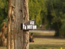 Conservi la natura nessun inquinamento Immagini Stock
