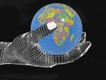 Conservi la terra, concetto Fotografia Stock Libera da Diritti