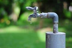 Conservi una goccia dell'acqua Fotografia Stock Libera da Diritti