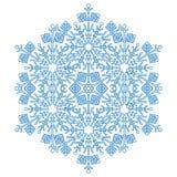 Consideravelmente em volta do floco de neve Fotografia de Stock