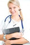 Consideravelmente enfermeira dos jovens Imagens de Stock