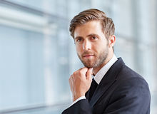 Considered approach to modern business Stock Photography