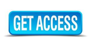 consiga el botón del acceso ilustración del vector