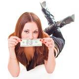 Consiga el dinero Fotografía de archivo
