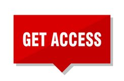 Consiga el precio del acceso libre illustration
