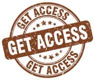Consiga el sello del acceso libre illustration