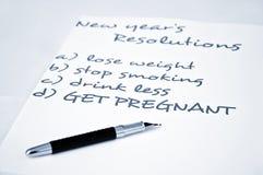 Consiga embarazado Imagenes de archivo