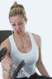 ¡Consiga enojado! Foto de archivo libre de regalías