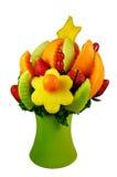 Consiga la cesta de fruta bien Fotografía de archivo libre de regalías