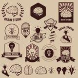 Consiga la idea brainstorm Fotografía de archivo libre de regalías