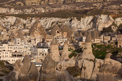 Consiga la obscuridad en Capadocia Imagen de archivo