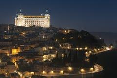 Consiga la obscuridad en Toledo fotos de archivo