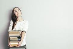 Consiga los libros de la educación o de la afición Fotografía de archivo libre de regalías