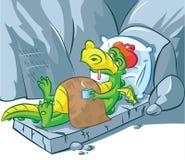 Consiga pronto el dragón bien Foto de archivo libre de regalías